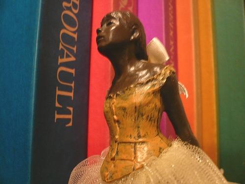 シンクロニシティ Synchronicity 素敵な偶然  Edgar Degas 踊り子のブロンズ像 ..。.゚。*・。♥_a0053662_2262919.jpg