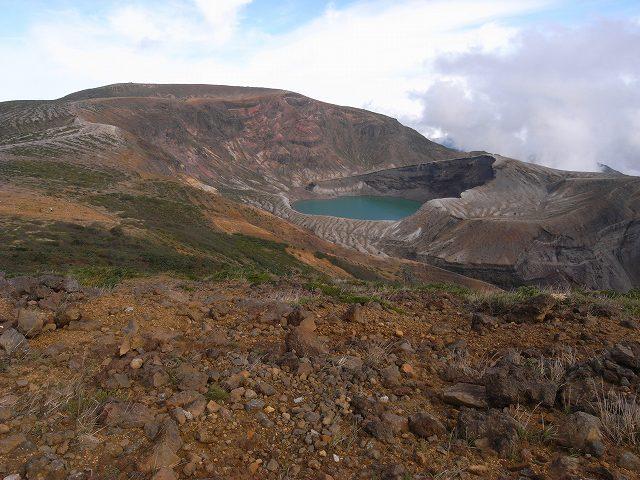 10月1日、蔵王山(刈田岳、熊野岳、五色岳)に登る_f0138096_1793711.jpg