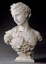 秋のサロン展にカルポーの彫刻作...