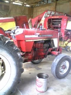 トラクターの修理_e0063268_15242473.jpg