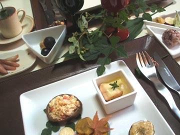 焼き野菜で秋のテーブル☆_e0086864_17313144.jpg