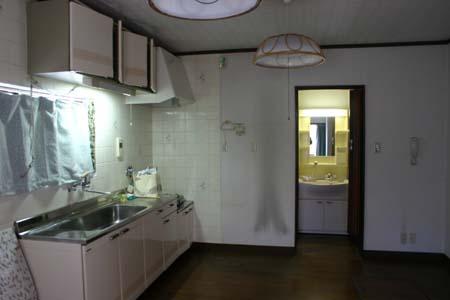 奈良のお家 洗面所 トイレ_e0074935_10523719.jpg