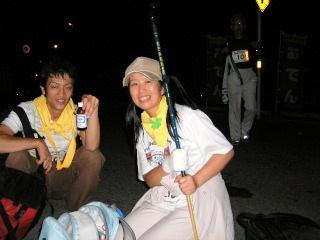 2007/10/6~7  第9回 行橋~別府100キロウォーク_f0043559_17391535.jpg