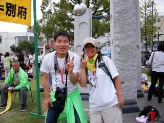 2007/10/6~7  第9回 行橋~別府100キロウォーク_f0043559_1743910.jpg