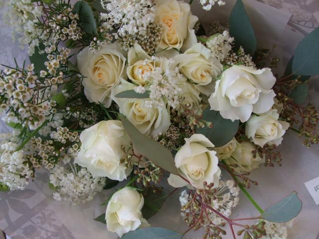 オークリーフ(イングリッシュアイズの白い花束)_f0049672_18222828.jpg