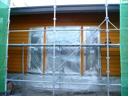 外壁の塗装、自分達で・・・_f0150893_2024970.jpg
