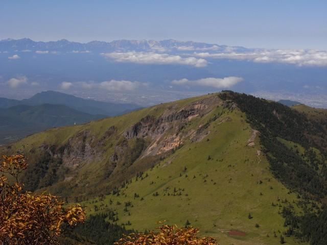 10月10日、四阿(あずまや)山に登る_f0138096_18381429.jpg