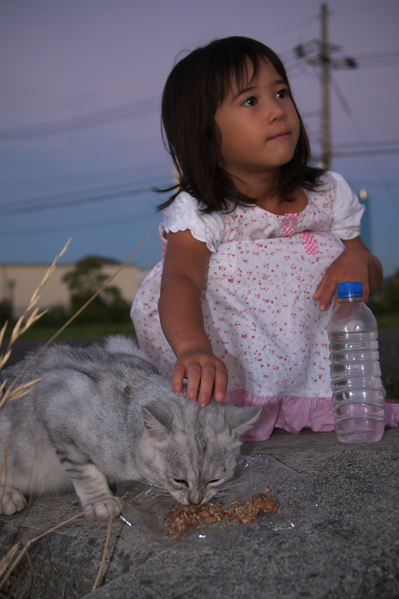 猫と・・・ Part3_f0021869_91640100.jpg