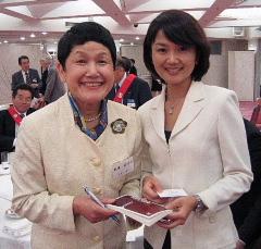 「40代の女性は宝物です。エネルギーとパワーであふれています」by 坂東眞理子さん_d0046025_736409.jpg