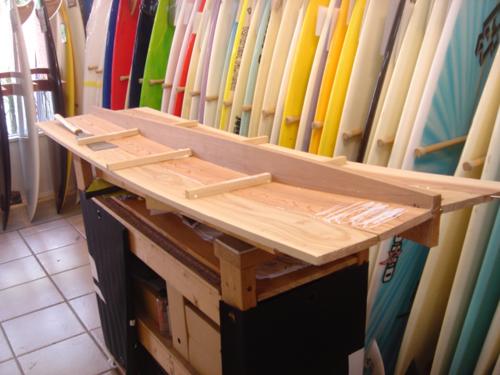 P023 木製サーフボード_f0150051_1471875.jpg