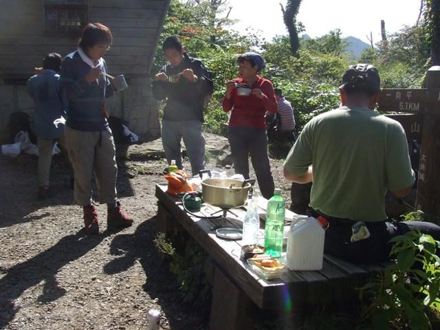 大山、キノコ狩りツアー  参加7名_d0007657_16554519.jpg