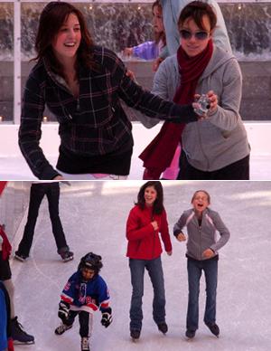 ロックフェラーセンターのアイススケート・リンク_b0007805_7133223.jpg