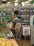 ♪食育事業 季節の野菜を買いに行きました_c0091507_1030195.jpg