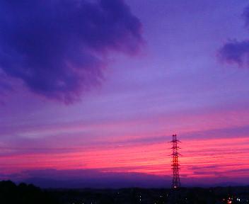 美しい夕空_b0032617_17391856.jpg