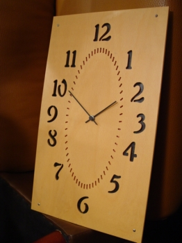イタリアから素敵な木の時計入荷!!_a0096367_0191091.jpg