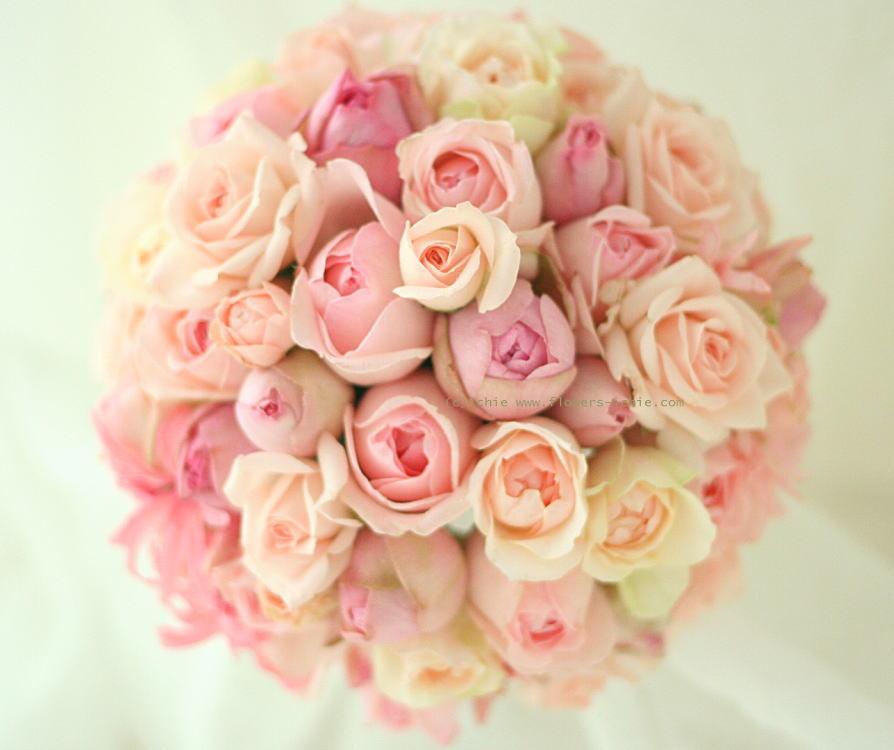 ブーケ 甘いピンク もうひとつの一会 _a0042928_1121133.jpg