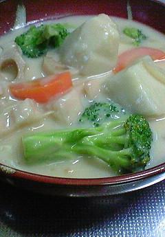 野菜のクリ-ムシチュ-♪_f0116812_1916383.jpg