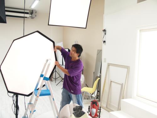 新しいスタジオ、テスト撮影_e0046950_22201691.jpg