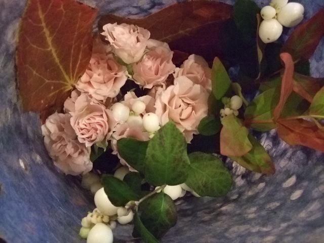 オークリーフ(紅葉をあしらった小さな花束)_f0049672_11544065.jpg