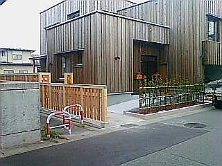 m邸塀工事がもう少しで完成です。_f0150893_17184734.jpg