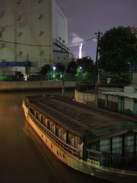 門前仲町  夜更けの船宿、巽橋に佇めば_b0061717_1154437.jpg