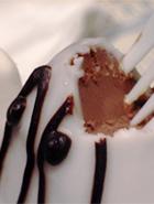 お化けチョコカップケーキ _b0007805_1303795.jpg