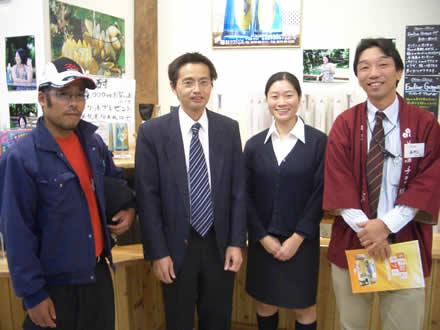 中津川市役所からちこり村へ研修派遣_d0063218_137074.jpg