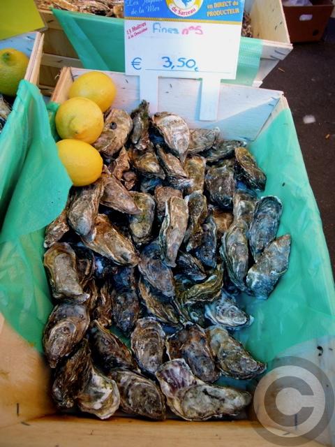 ■秋のマルシェの魚介類(バスティーユ)_f0063227_6214157.jpg