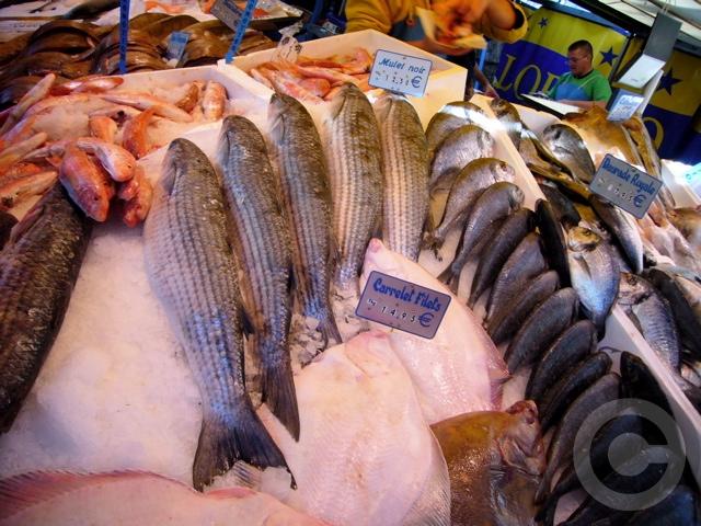 ■秋のマルシェの魚介類(バスティーユ)_f0063227_6224012.jpg