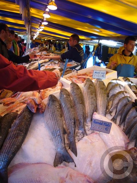■秋のマルシェの魚介類(バスティーユ)_f0063227_6225891.jpg