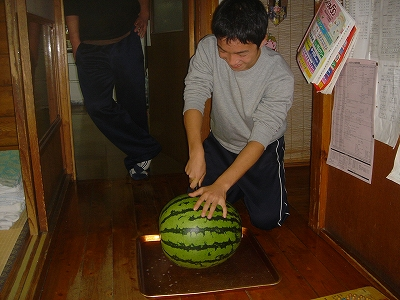 今年の八色西瓜の味は?_b0092684_0222522.jpg