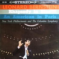 """Leonard Bernstein + Columbia Symphony / Gershwin """"Rhapsody in Blue""""_d0102724_0502965.jpg"""