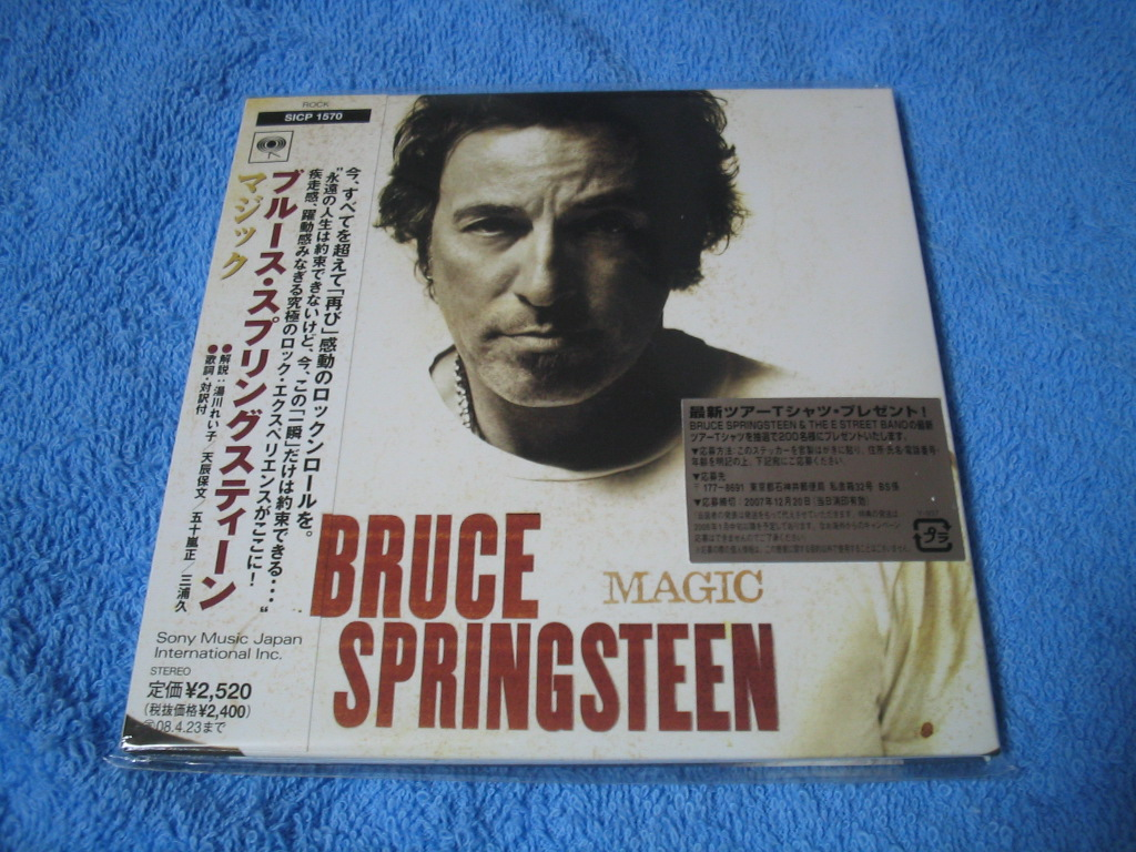 BRUCE SPRINGSTEEN / MAGIC_c0065426_2334451.jpg