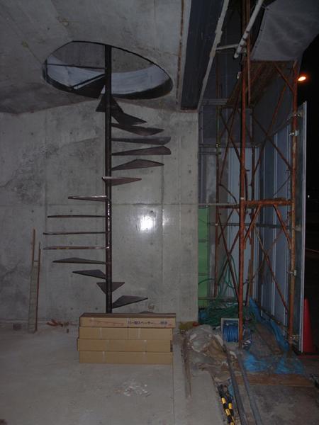 階段設置_d0062690_1165733.jpg