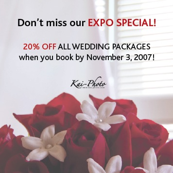 Wedding Expo! Come visit us☆_f0015440_16115846.jpg