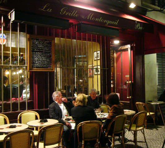 『La Grille Montorgueil』 in PARIS_c0131054_827497.jpg