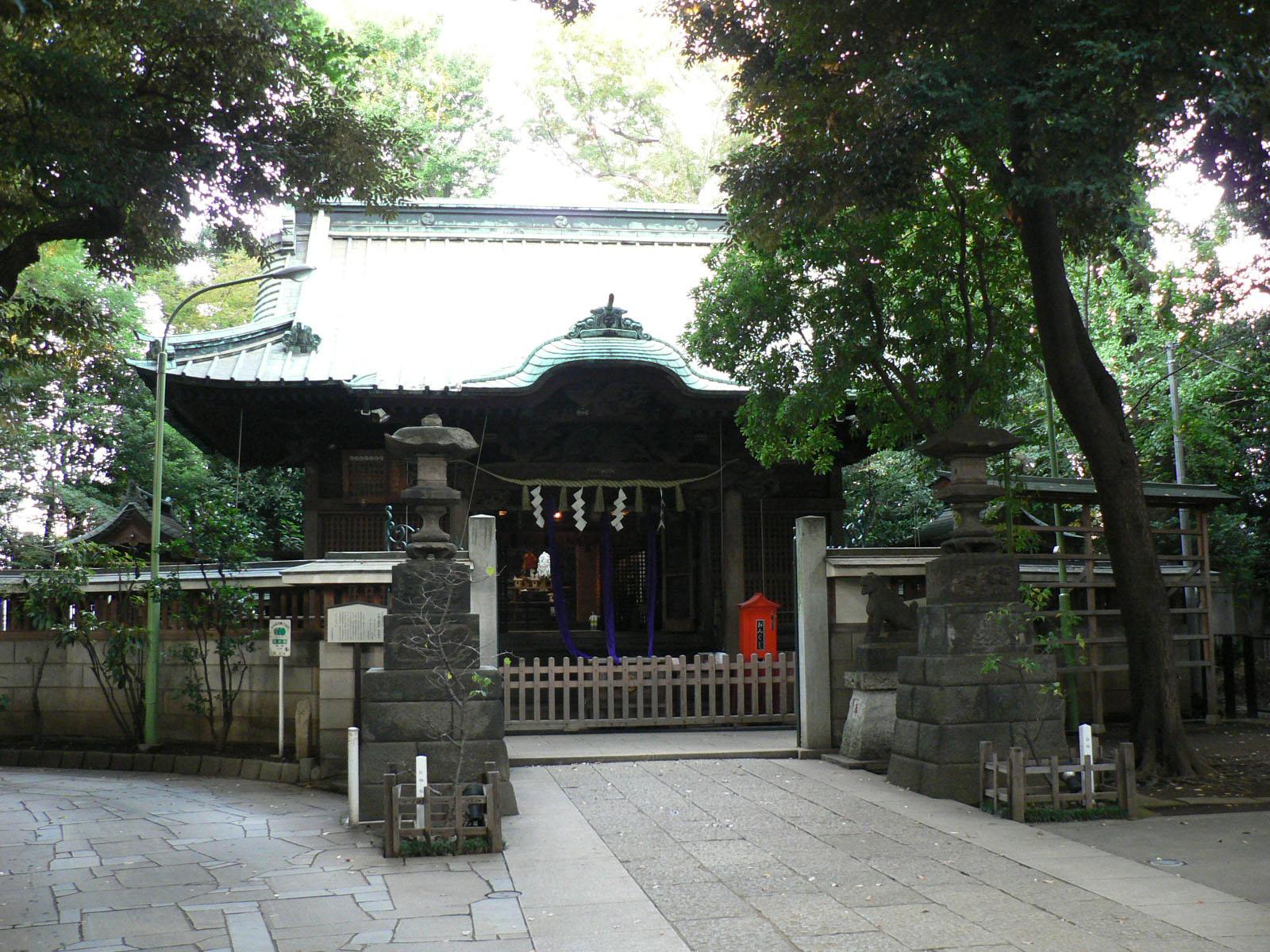 戸越八幡神社_e0123189_12222661.jpg