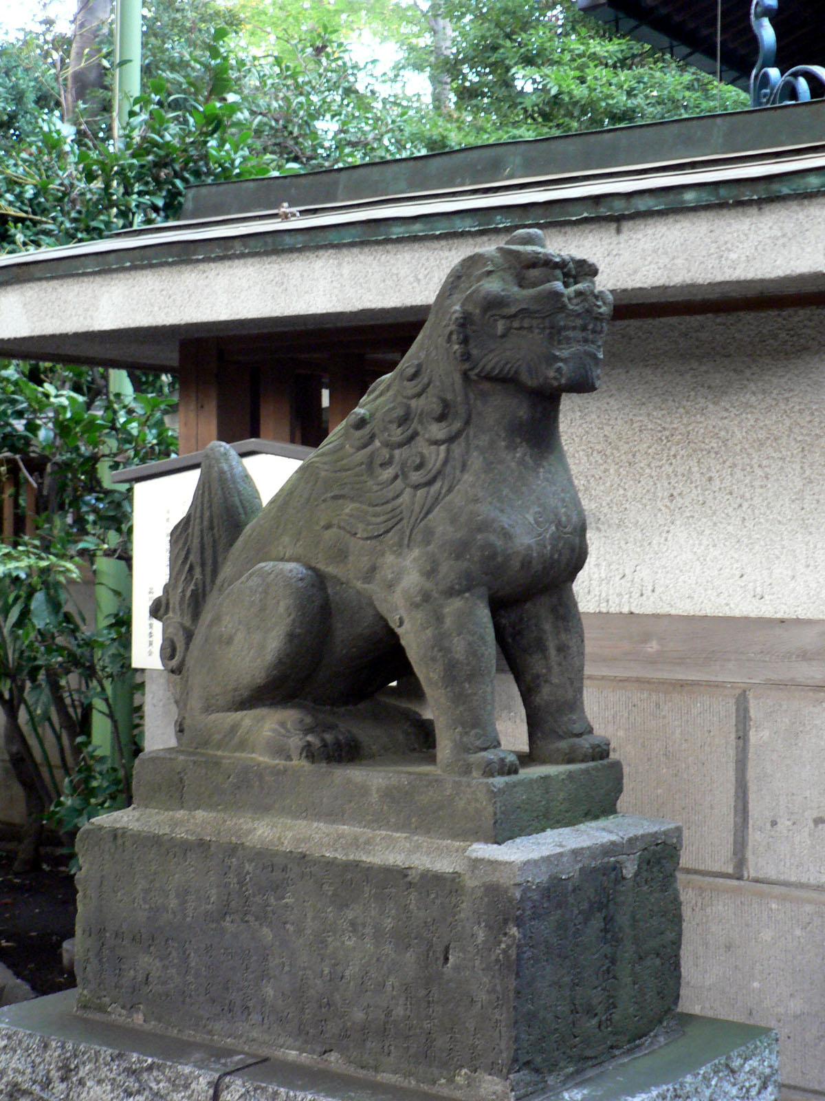 戸越八幡神社_e0123189_12224470.jpg