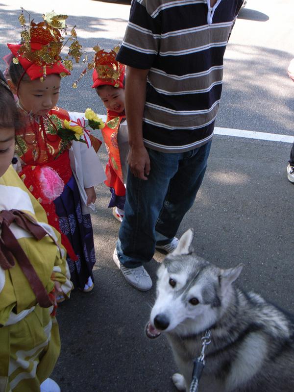 お祭りの子供たち_c0049299_2028657.jpg