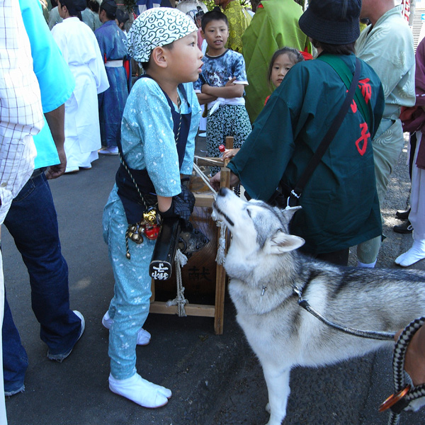 お祭りの子供たち_c0049299_20372096.jpg