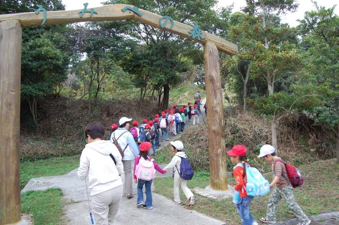淡輪小学校1年生遠足サポート_c0108460_15332280.jpg