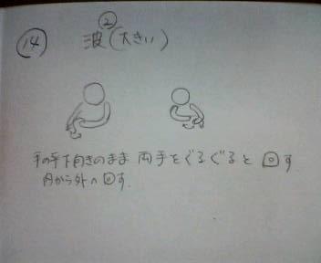 セラピア体操の案です~大波_b0106766_11434096.jpg