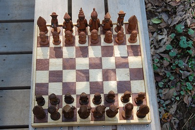 Made in Cameroun の Chess_c0124100_17391936.jpg