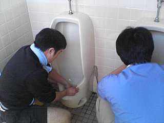 「大正村掃除に学ぶ会」にちこり村からも参加_d0063218_0211147.jpg