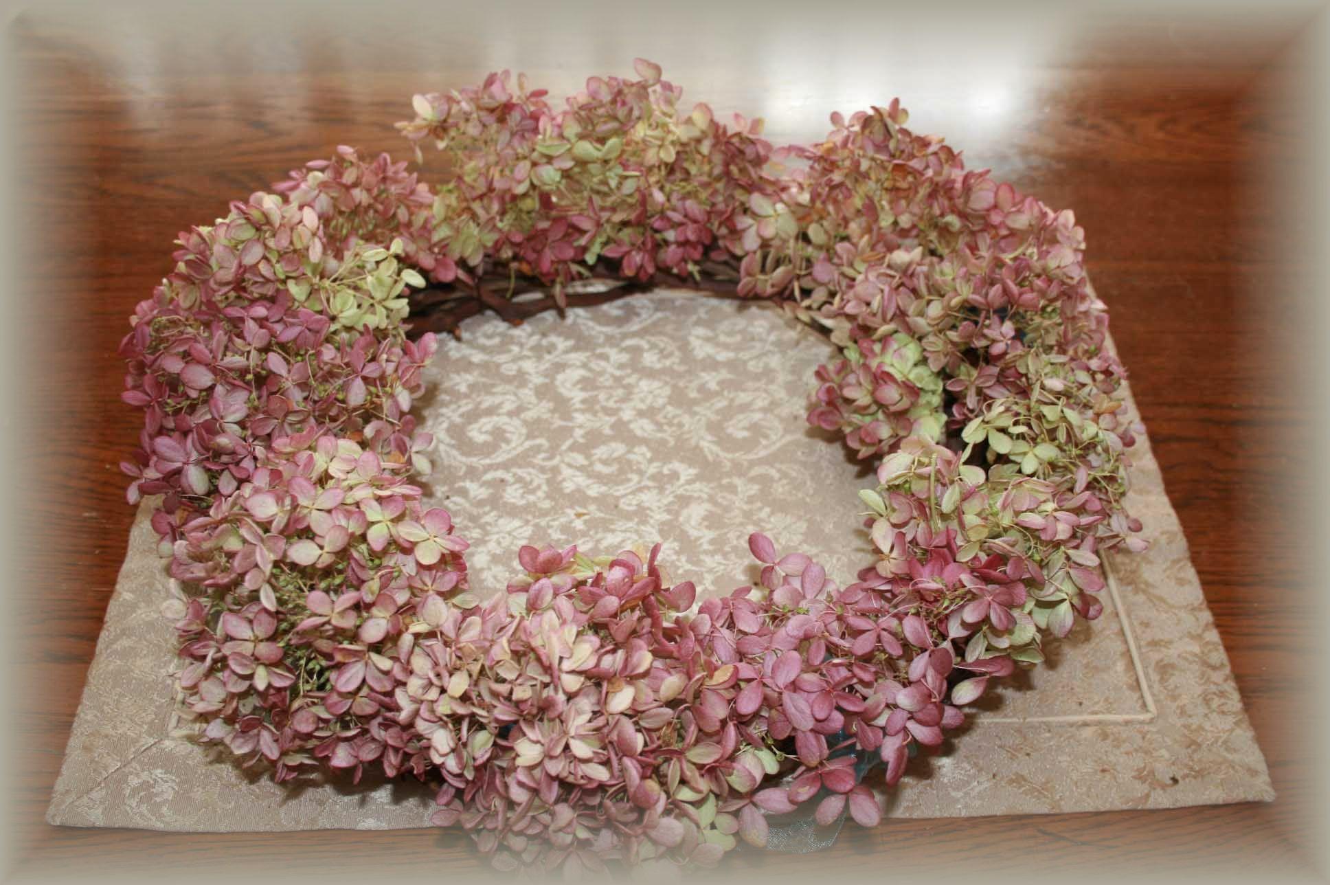 秋色紫陽花、秋色水無月♪~_e0082045_1603659.jpg