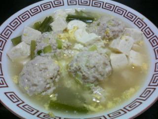 鶏団子スープ_c0025217_1292543.jpg