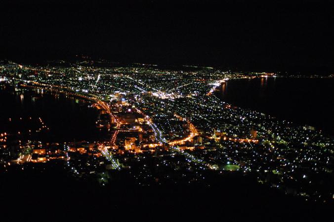 立待岬と夜景_f0054539_0521053.jpg