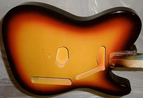 60\'s風 3 Tone Sunburst色のModerncaster T #009。_e0053731_20245875.jpg