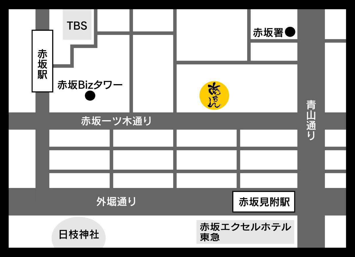 地料理屋あうんの地図です。_f0157910_20583868.jpg