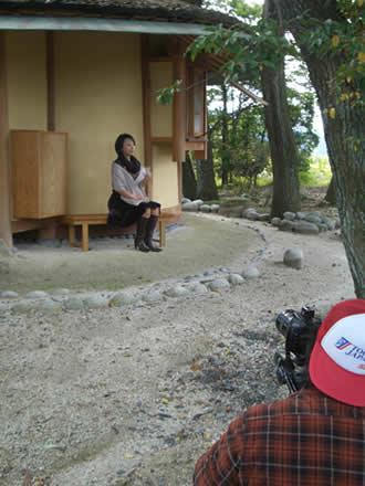 ちこちこ焼酎と味千ラーメン重元さん。秋の撮影でちこり村_d0063218_15343438.jpg